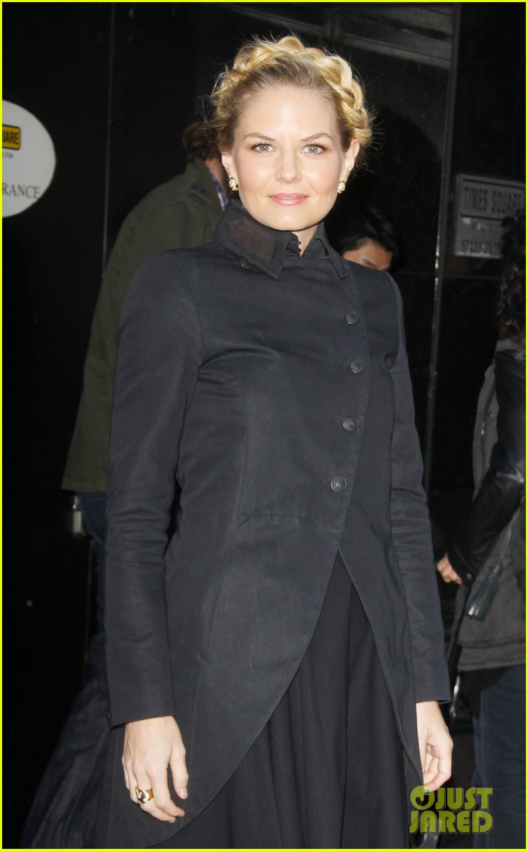 jennifer morrison promotes once upon a time in nyc 132976952