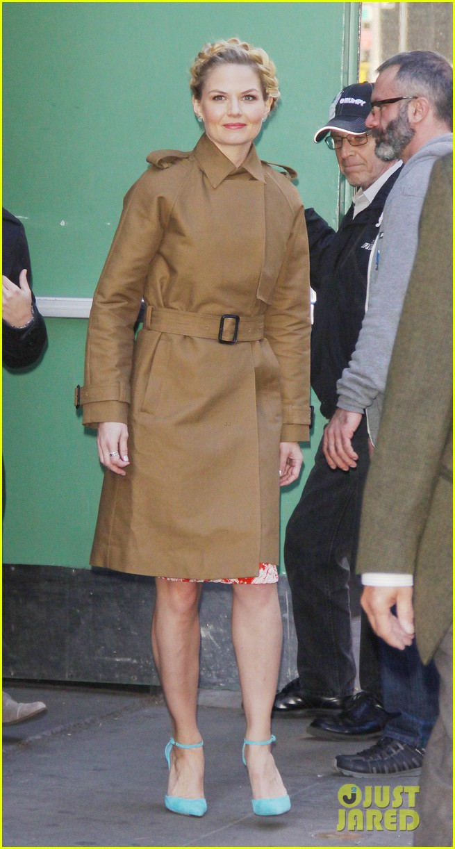 jennifer morrison promotes once upon a time in nyc 142976953