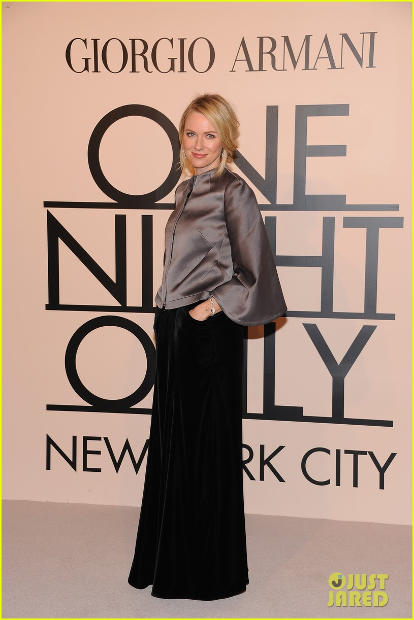 naomi watts olivia munn georgio armani one night only nyc 222978698