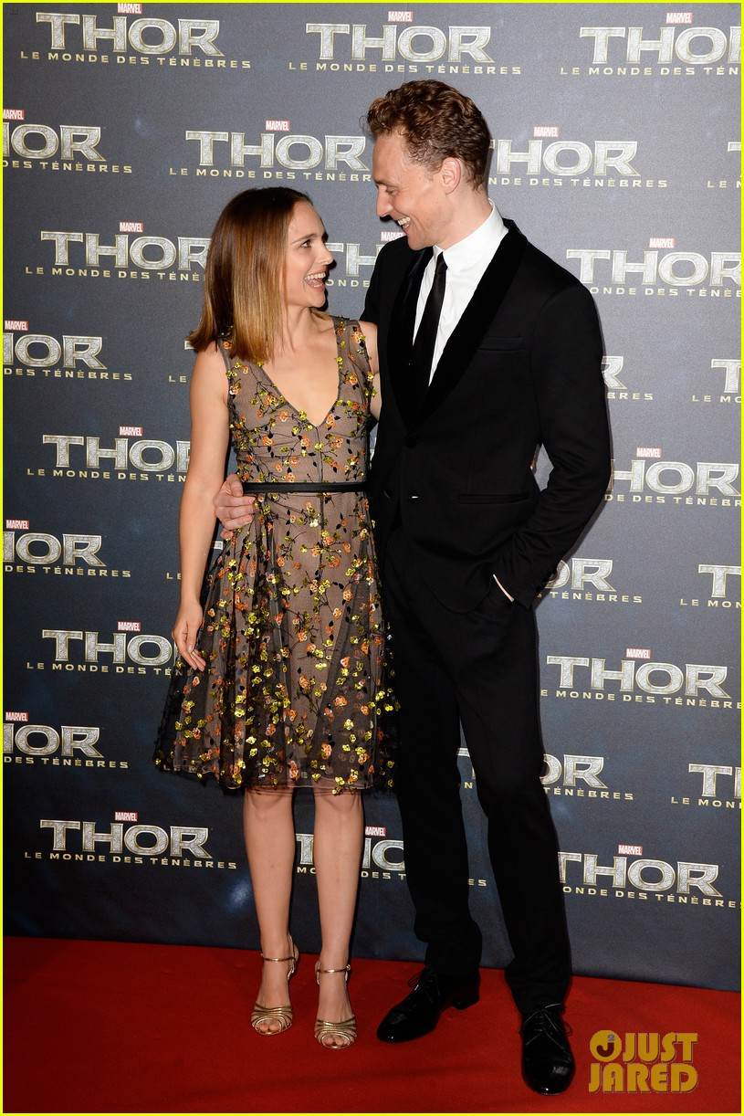 natalie portman tom hiddleston thor paris premiere 032977726