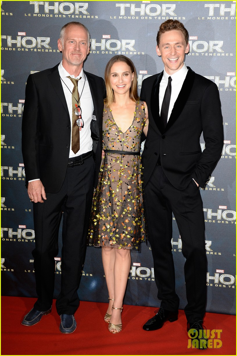 natalie portman tom hiddleston thor paris premiere 062977729