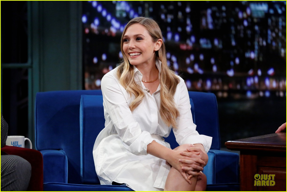 elizabeth olsen kill your darlings on fallon 042963598