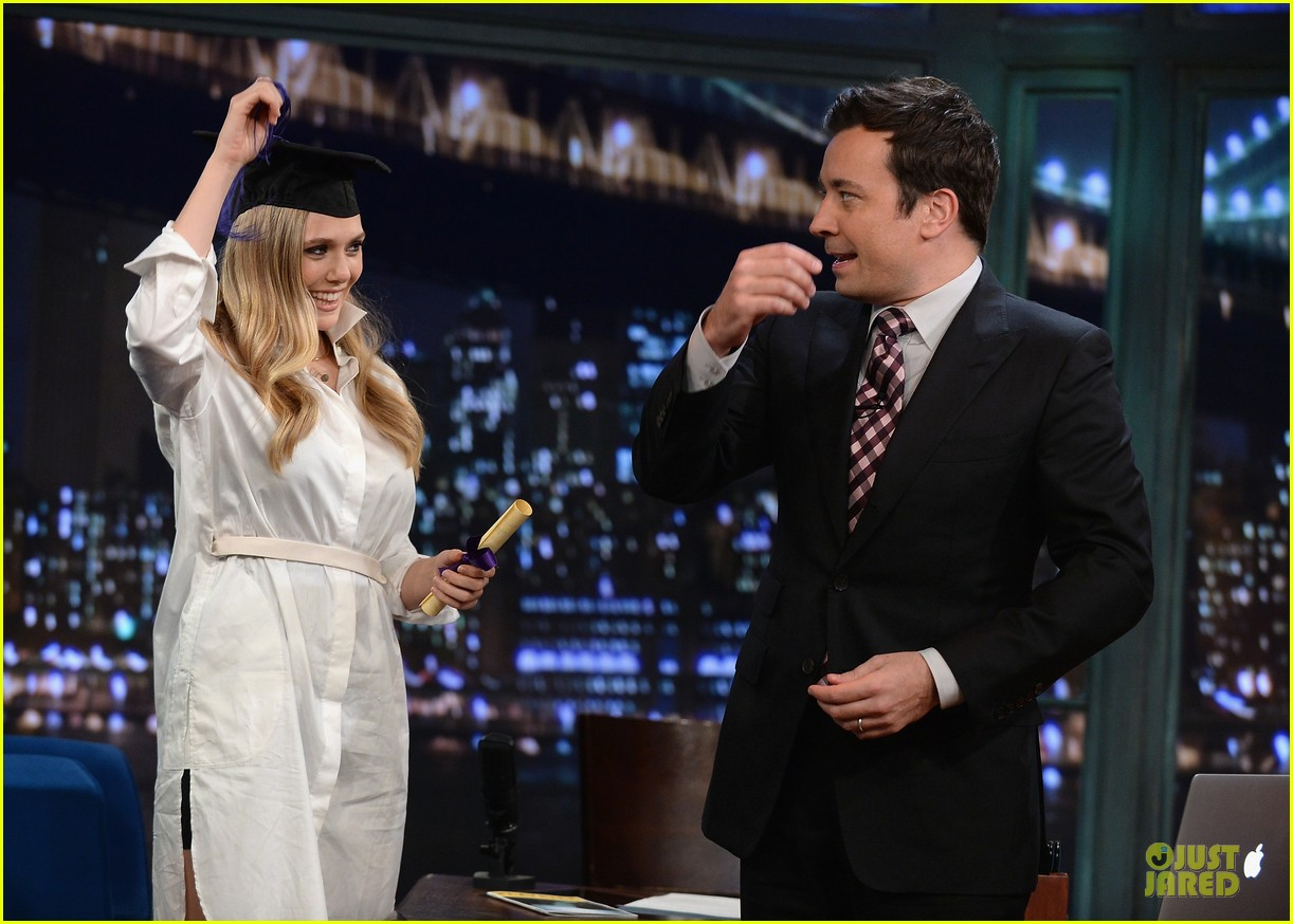 elizabeth olsen kill your darlings on fallon 092963603