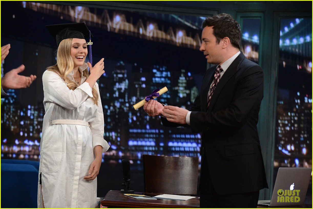 elizabeth olsen kill your darlings on fallon 132963607