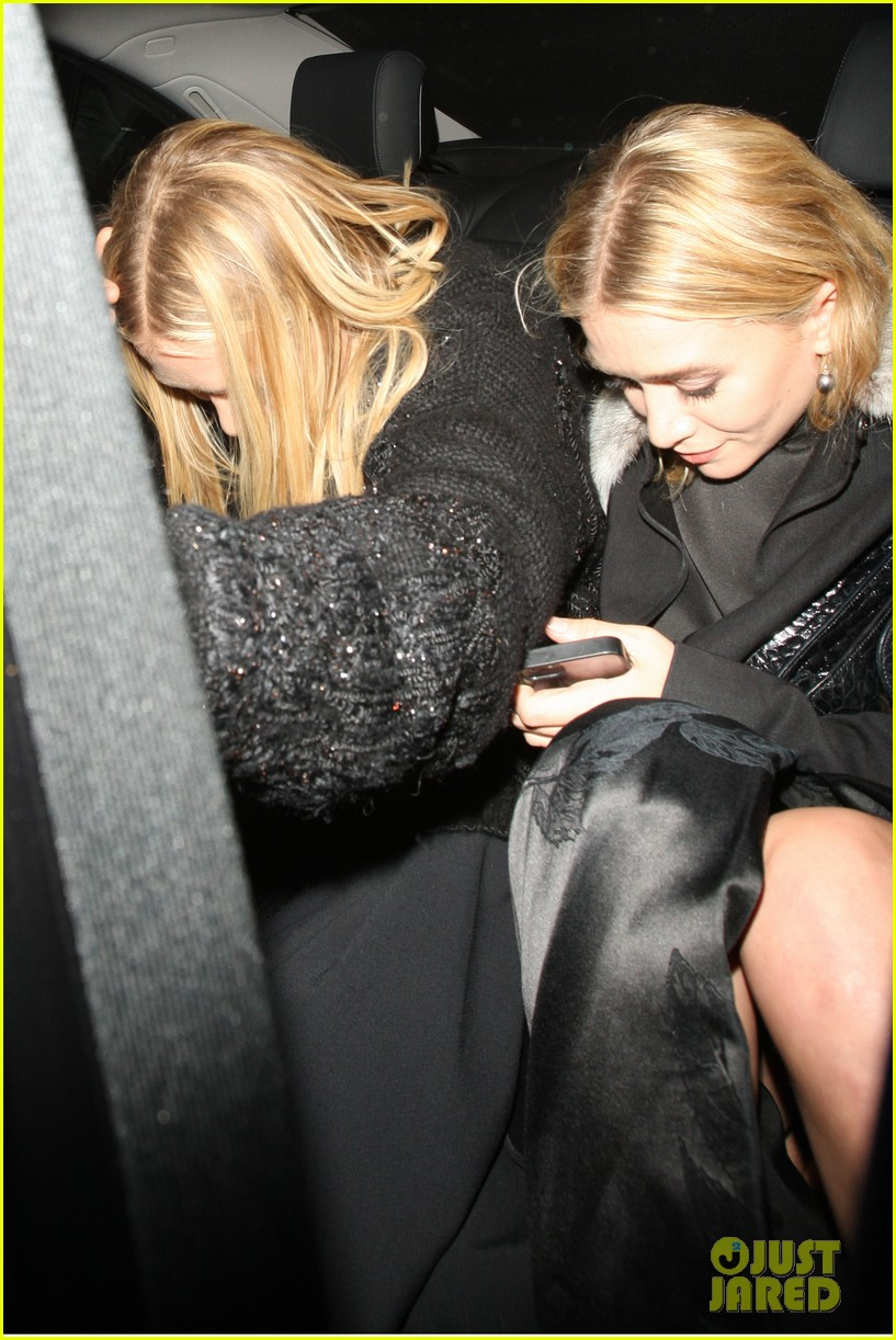 mary kate ashley elizabeth olsen night out in seperate countries 042972898