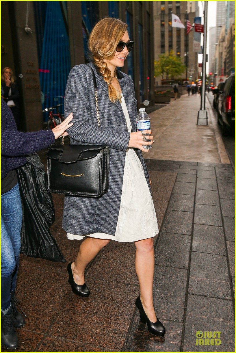 elizabeth olsen sway in the morning radio appearance 142970516