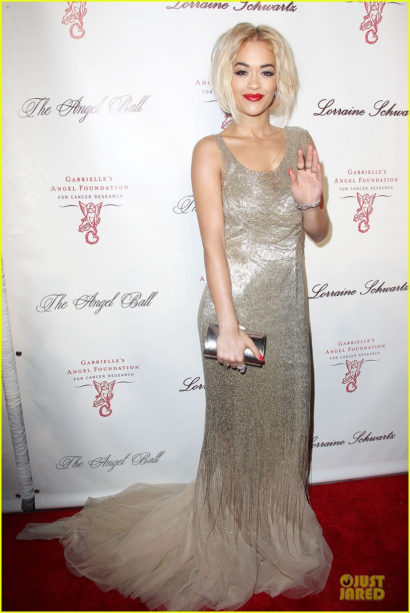 rita ora alyssa miller angel ball 2013 01
