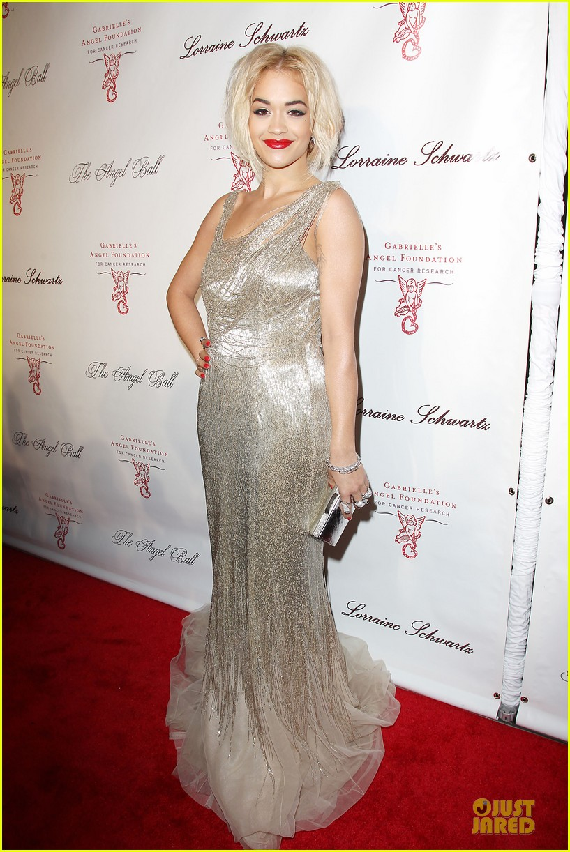 rita ora alyssa miller angel ball 2013 162982704