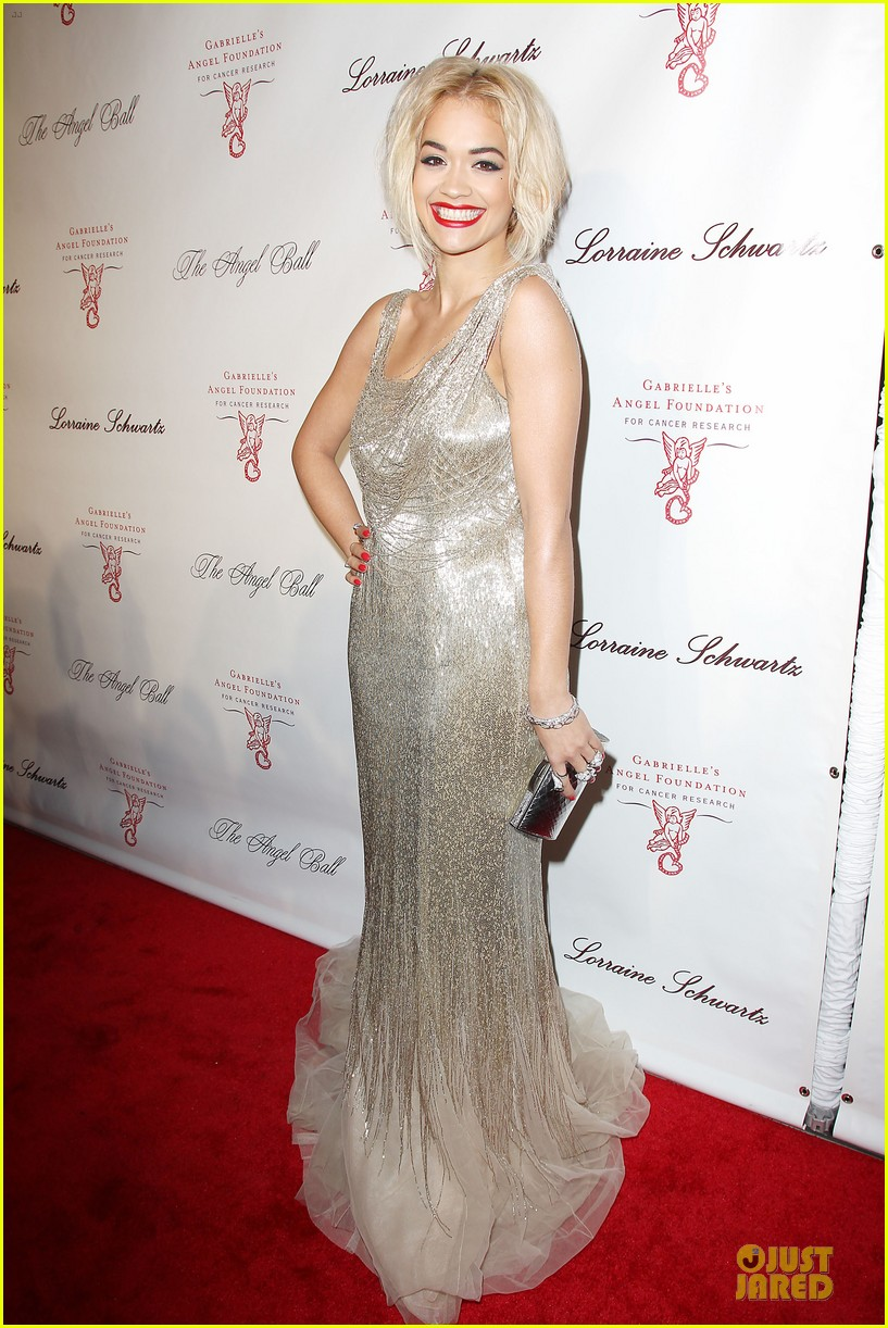 rita ora alyssa miller angel ball 2013 172982705