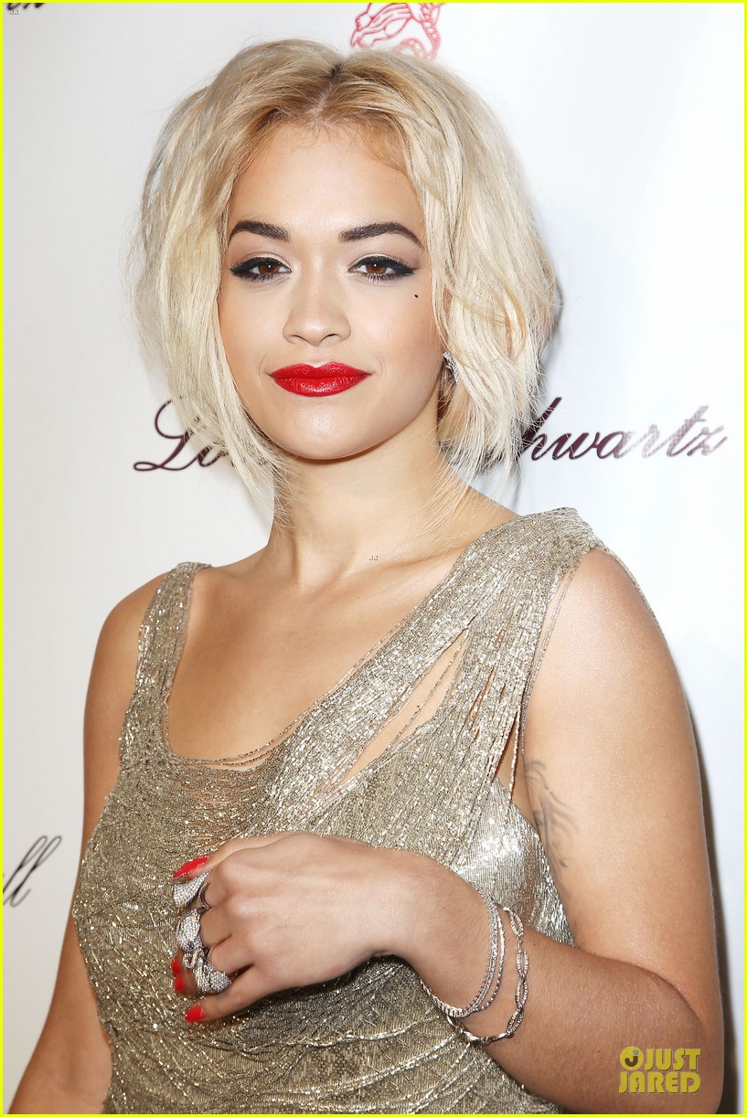 rita ora alyssa miller angel ball 2013 192982707