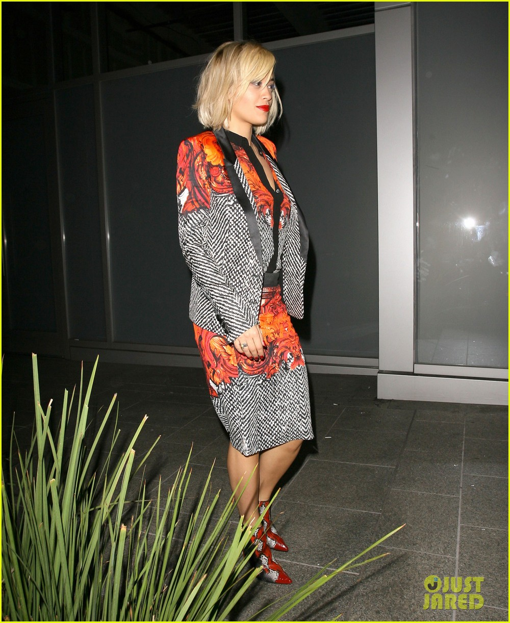 rita ora calvin harris hakkasan dinner date in beverly hills 012972400