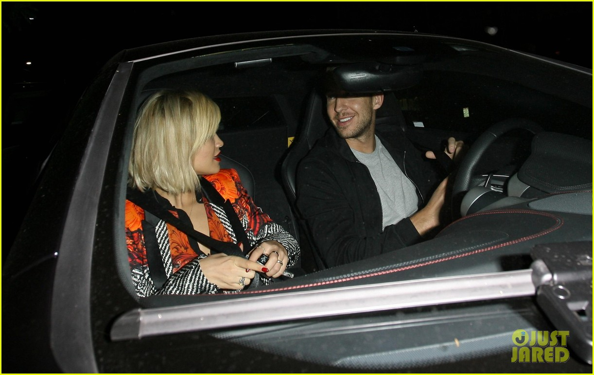 rita ora calvin harris hakkasan dinner date in beverly hills 032972402