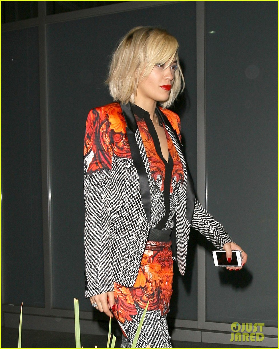 rita ora calvin harris hakkasan dinner date in beverly hills 082972407