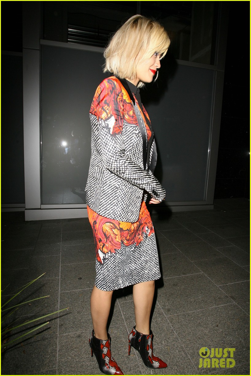rita ora calvin harris hakkasan dinner date in beverly hills 092972408
