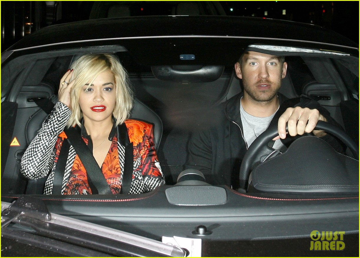 rita ora calvin harris hakkasan dinner date in beverly hills 102972409