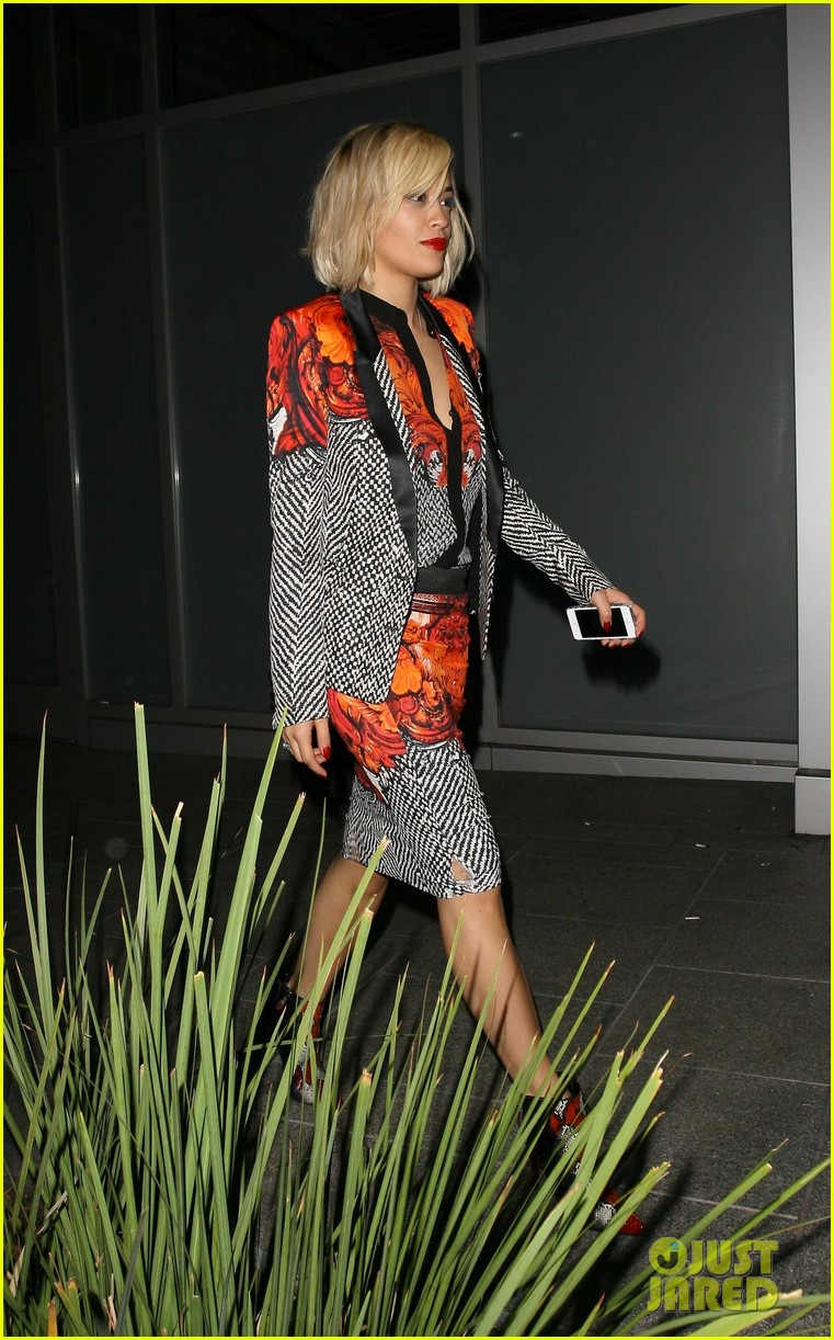 rita ora calvin harris hakkasan dinner date in beverly hills 152972414