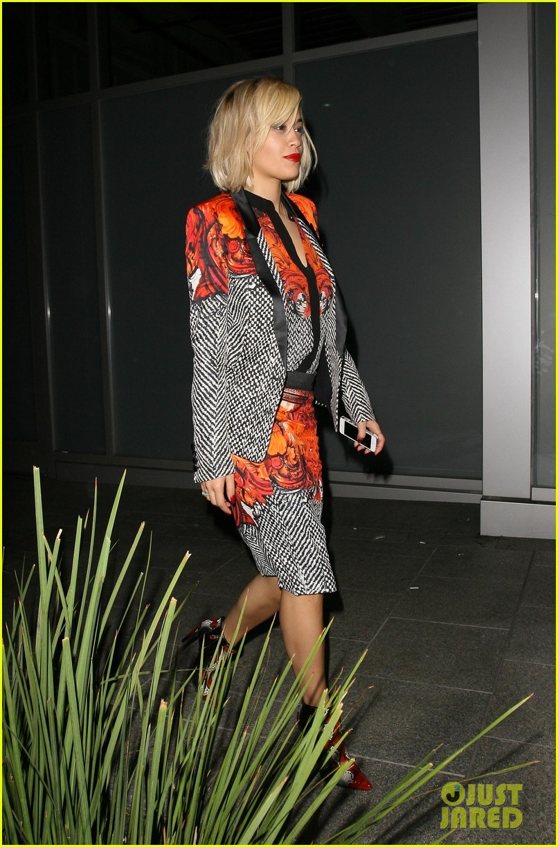 rita ora calvin harris hakkasan dinner date in beverly hills 16