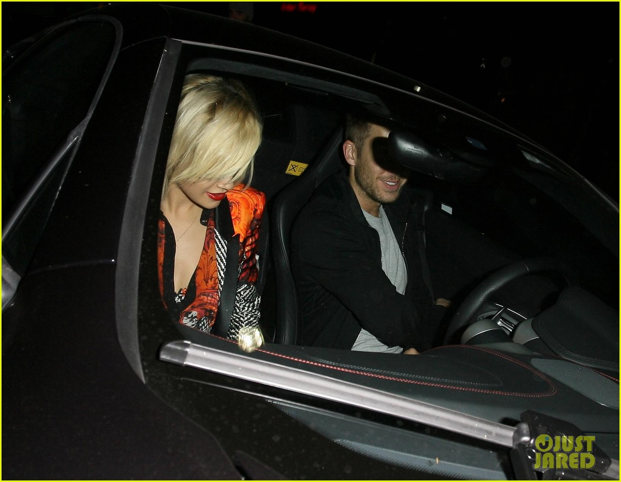 rita ora calvin harris hakkasan dinner date in beverly hills 202972419