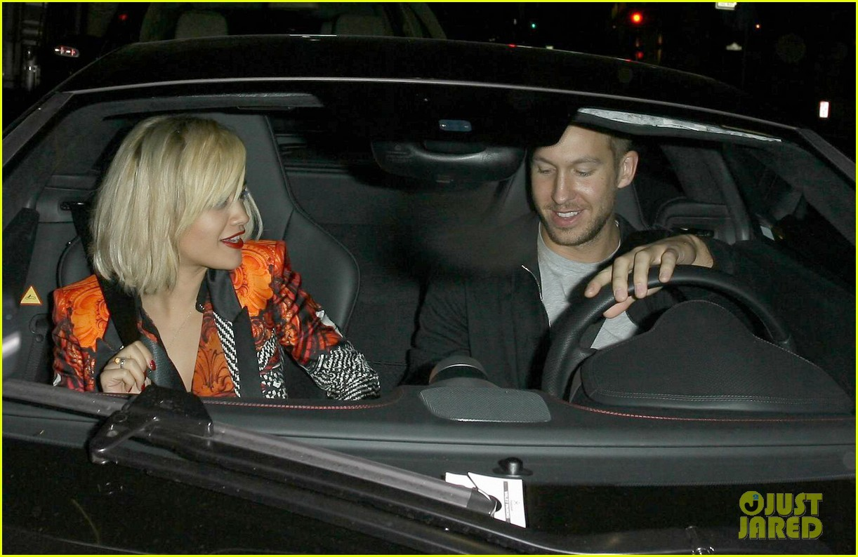 rita ora calvin harris hakkasan dinner date in beverly hills 212972420