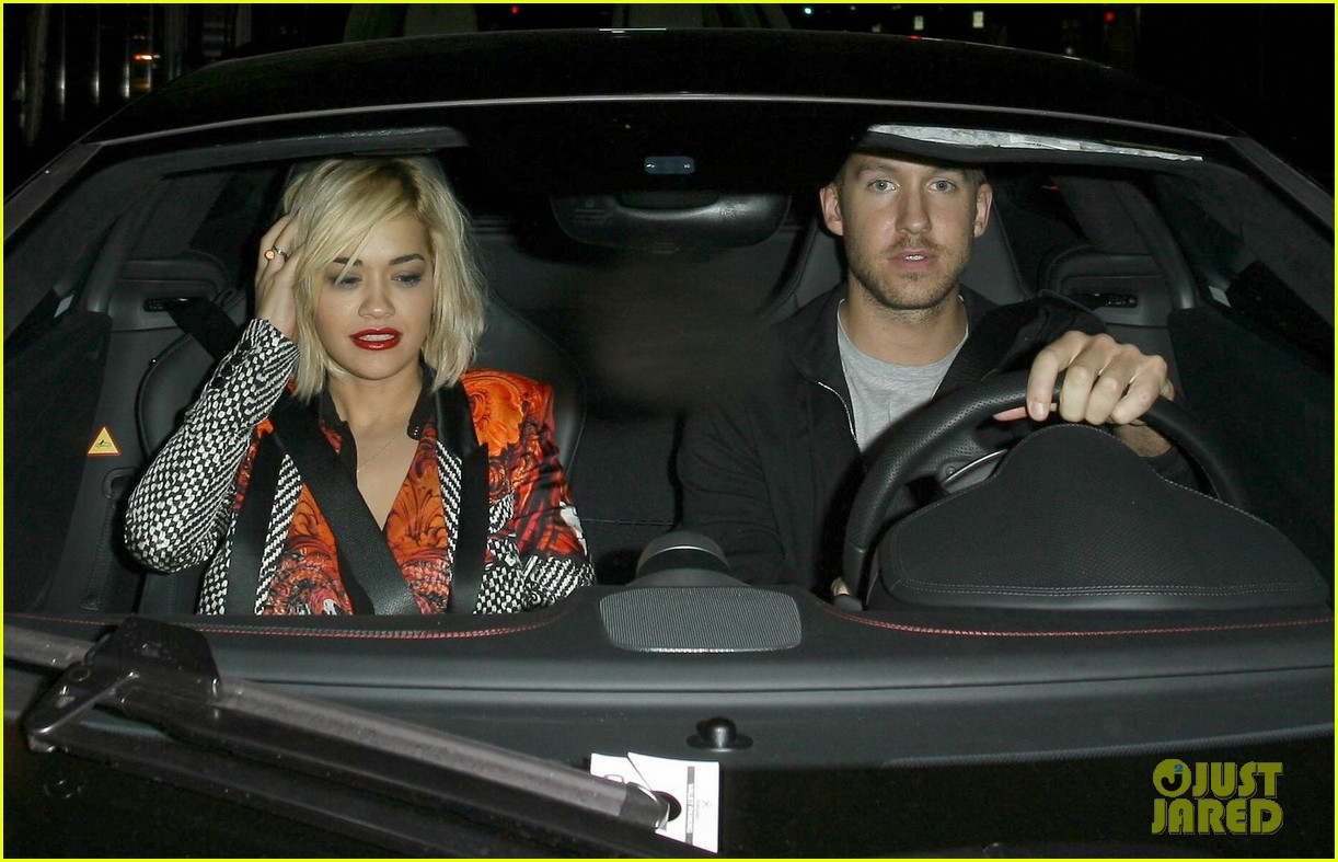 rita ora calvin harris hakkasan dinner date in beverly hills 222972421