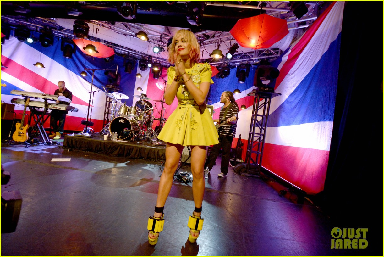 rita ora performs live at iheartradios uk rocks concert 032974297