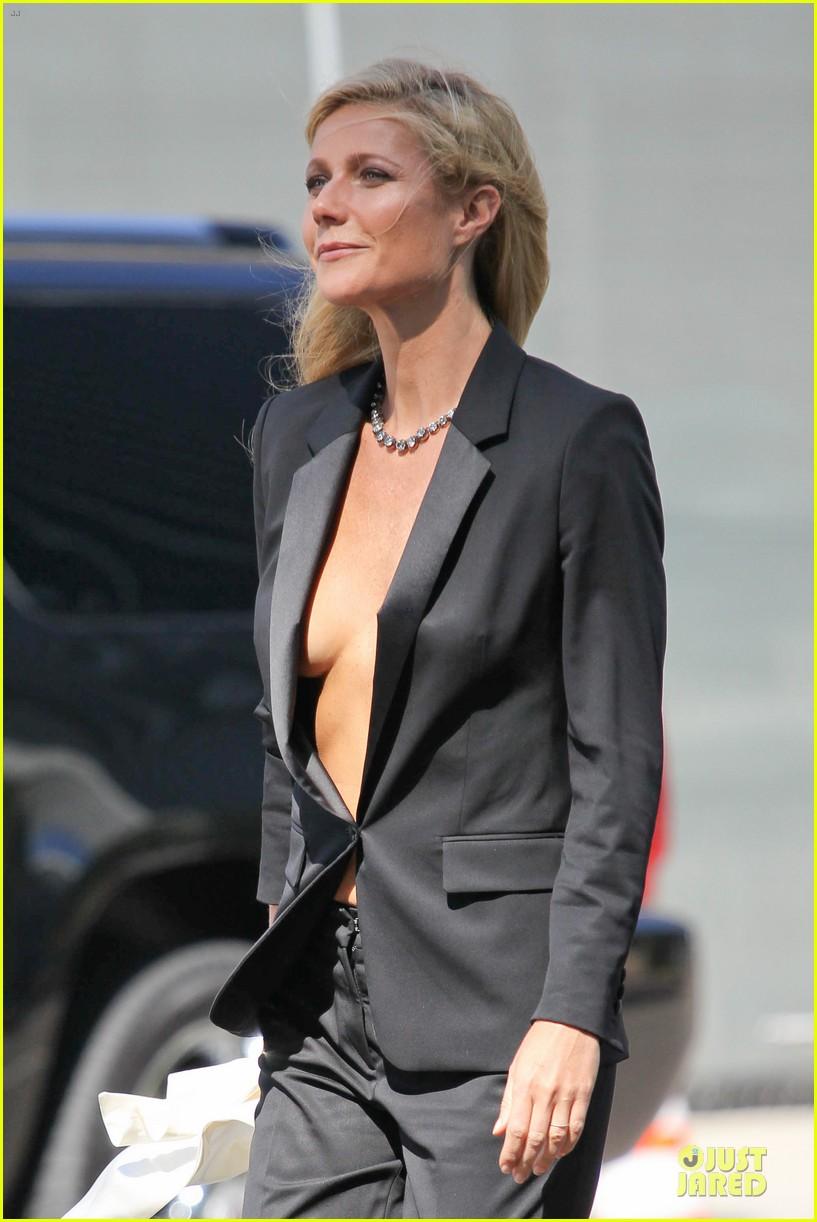 gwyneth paltrow goes braless for hugo boss 022964026