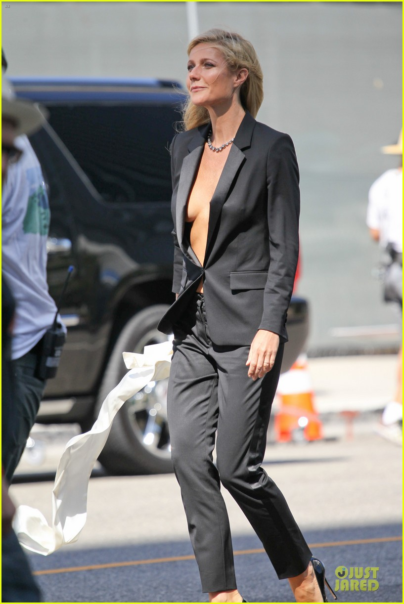 gwyneth paltrow goes braless for hugo boss 072964031