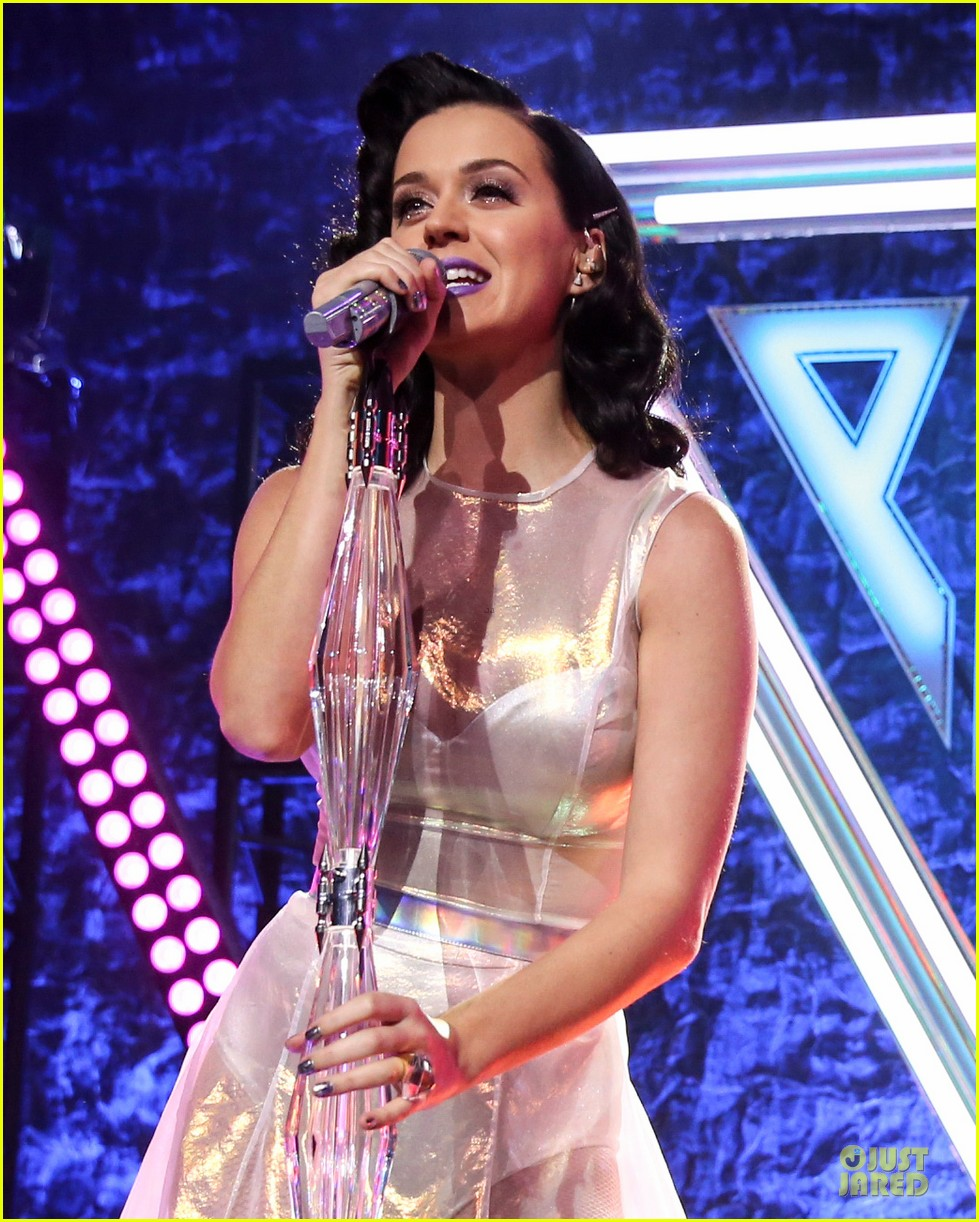 katy perry performs at iheartradio prism release party 042977421