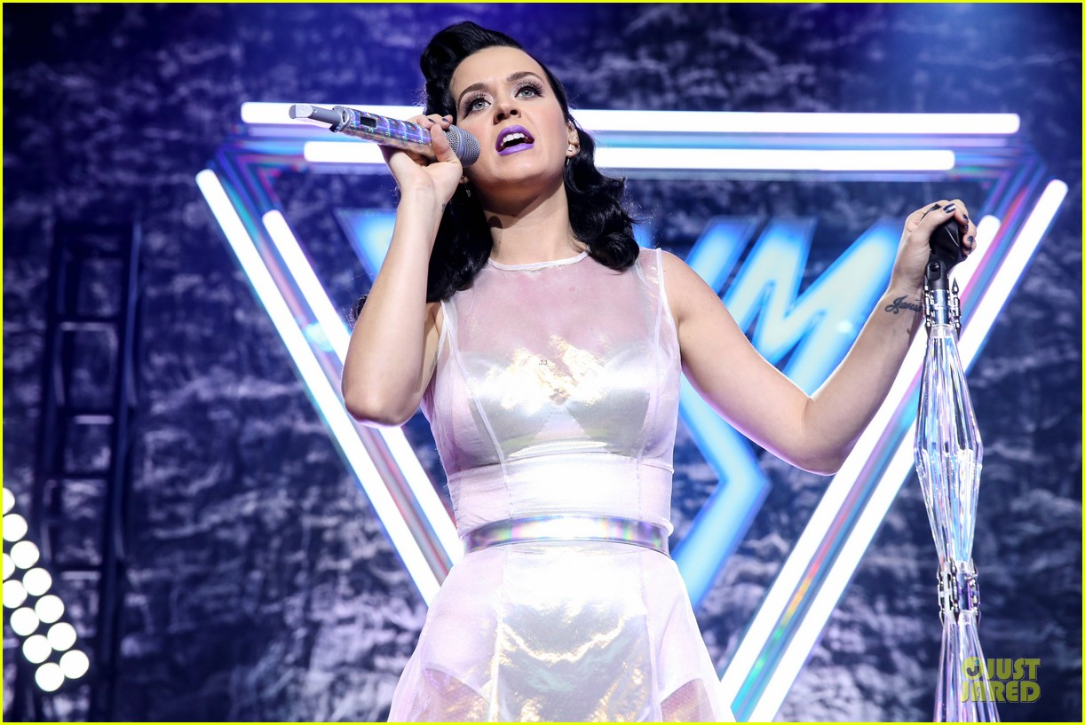 katy perry performs at iheartradio prism release party 092977426