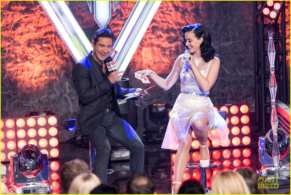 katy perry performs at iheartradio prism release party 102977427