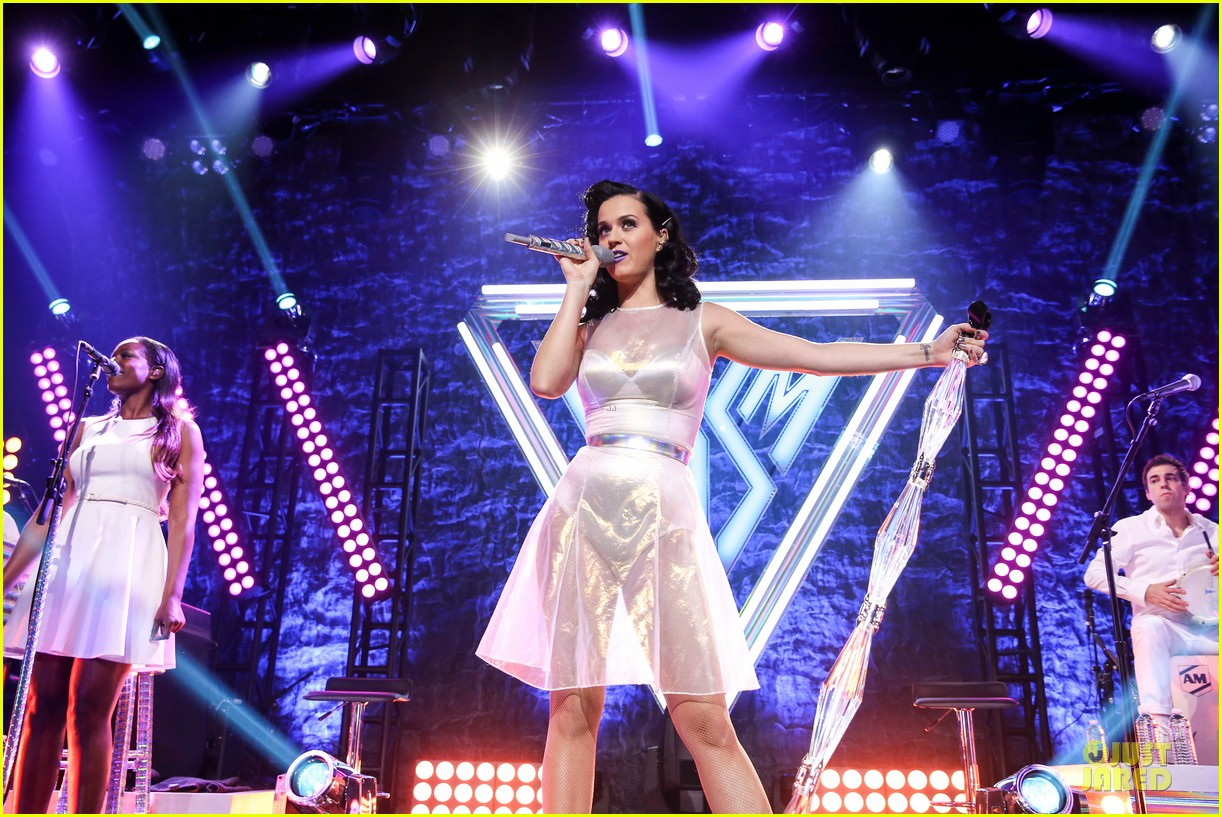 katy perry performs at iheartradio prism release party 112977428