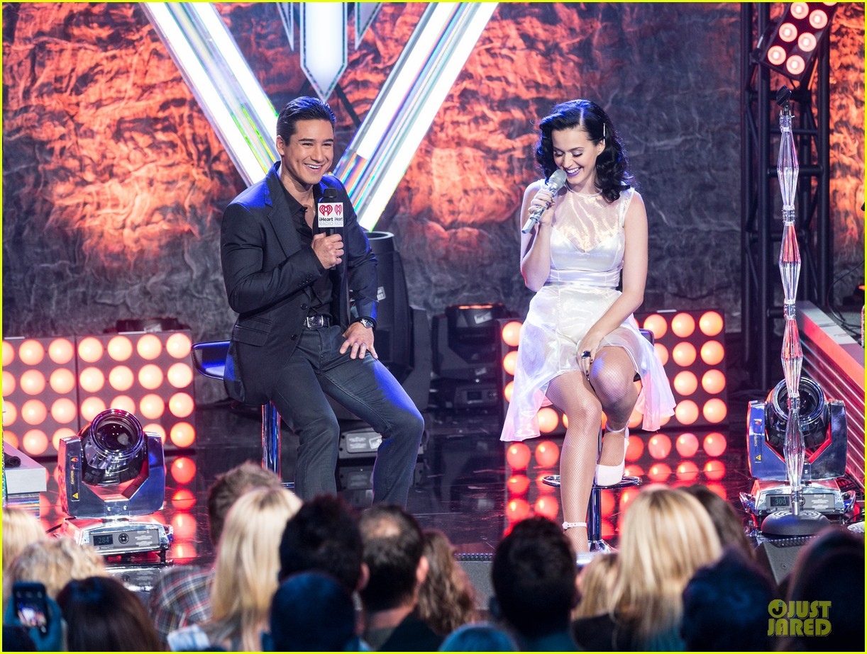 katy perry performs at iheartradio prism release party 122977429