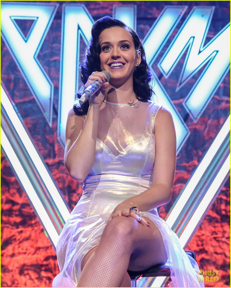 katy perry performs at iheartradio prism release party 142977431