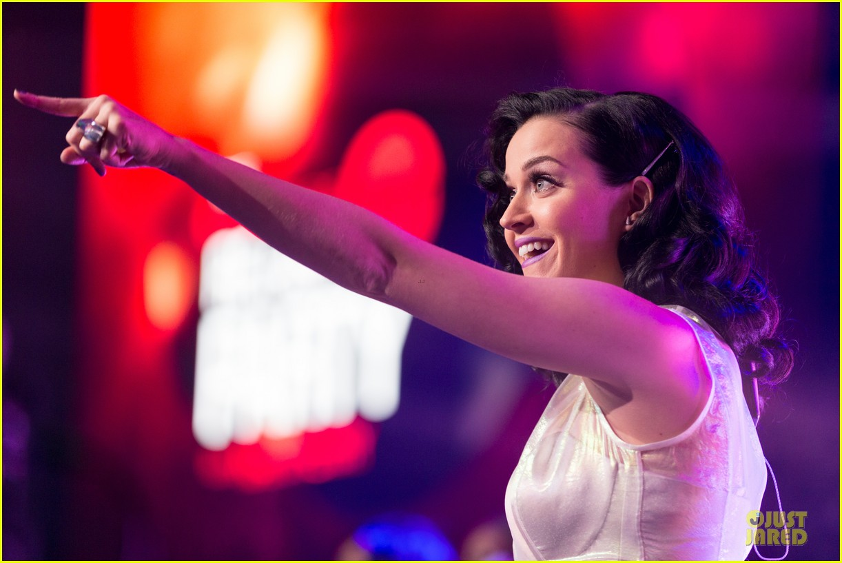 katy perry performs at iheartradio prism release party 172977434