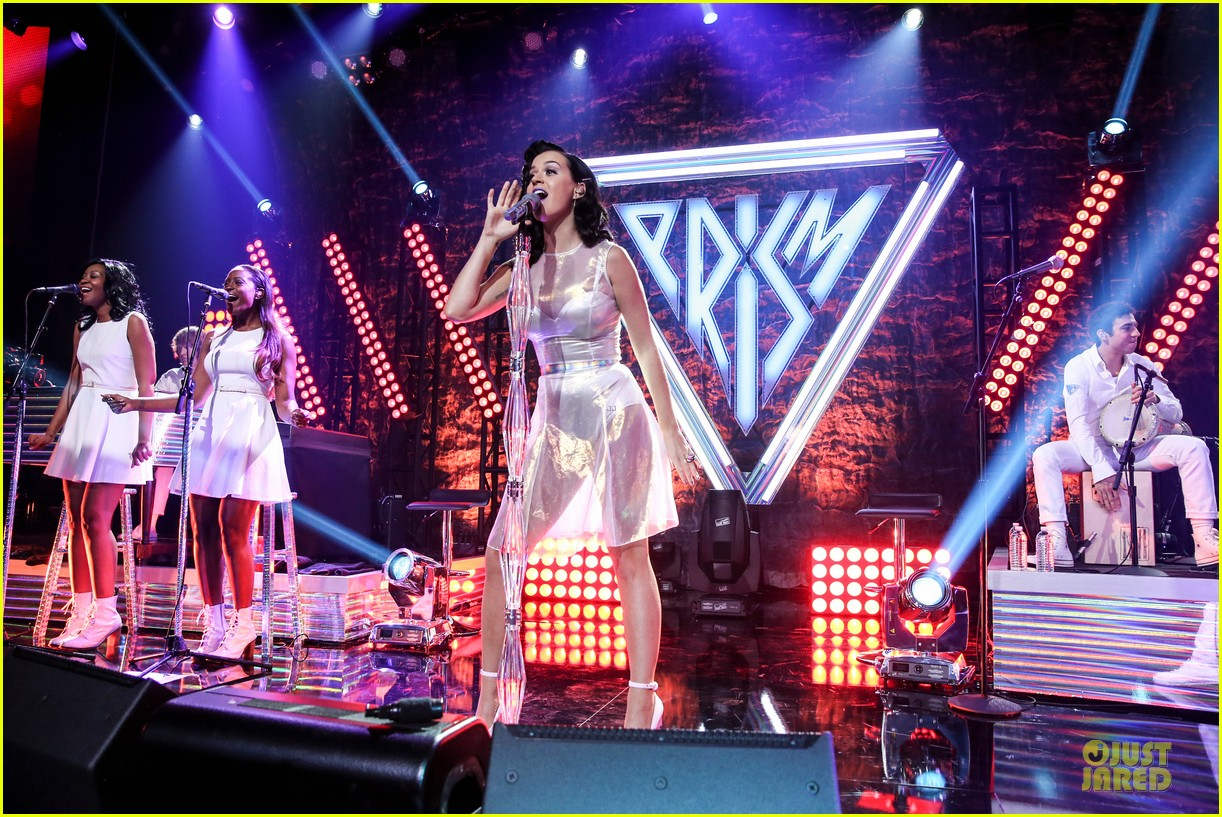 katy perry performs at iheartradio prism release party 182977435