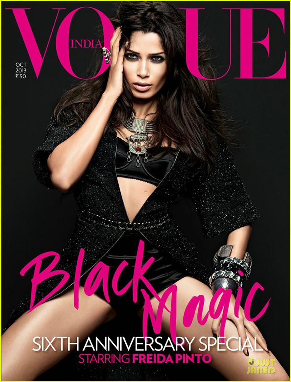 freida pinto seductively covers vogue india october 2013 052969753