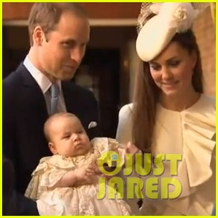 prince george christening photo with kate middleton prince william 012977576