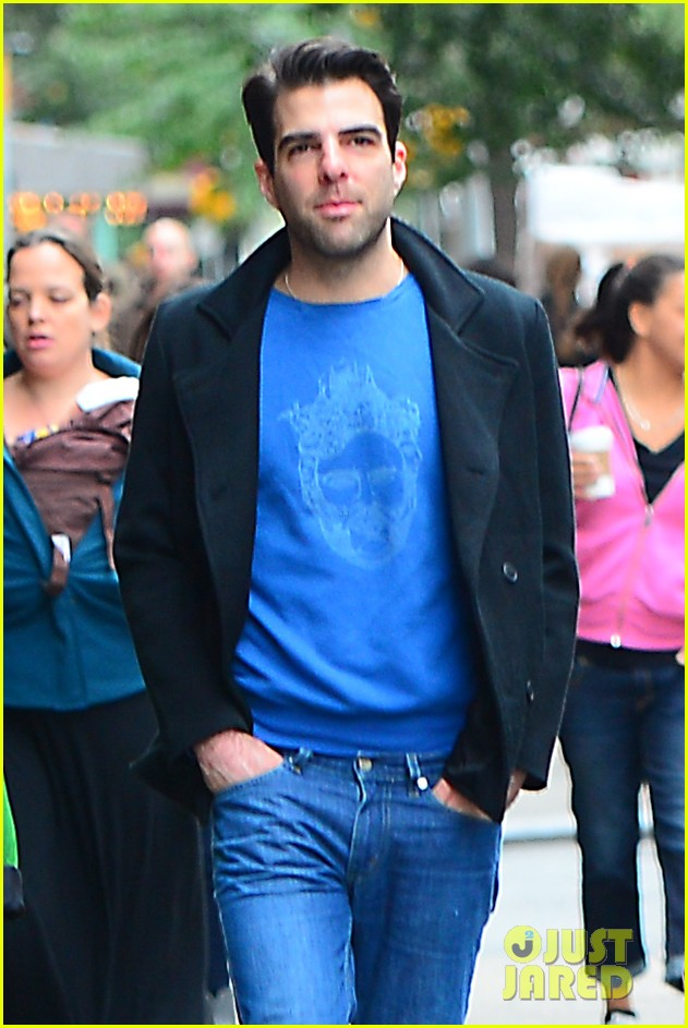 zachary quinto go see big fish on broadway 012970128