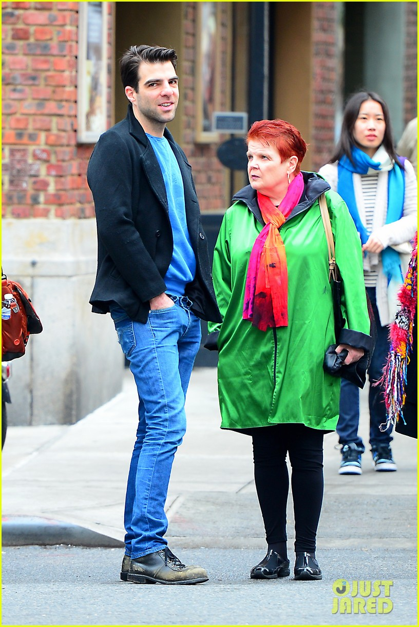 zachary quinto go see big fish on broadway 022970129