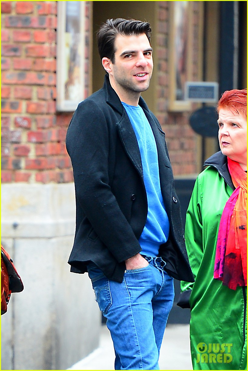 zachary quinto go see big fish on broadway 052970132