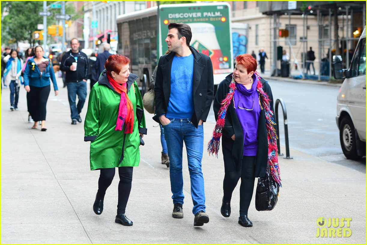 zachary quinto go see big fish on broadway 062970133