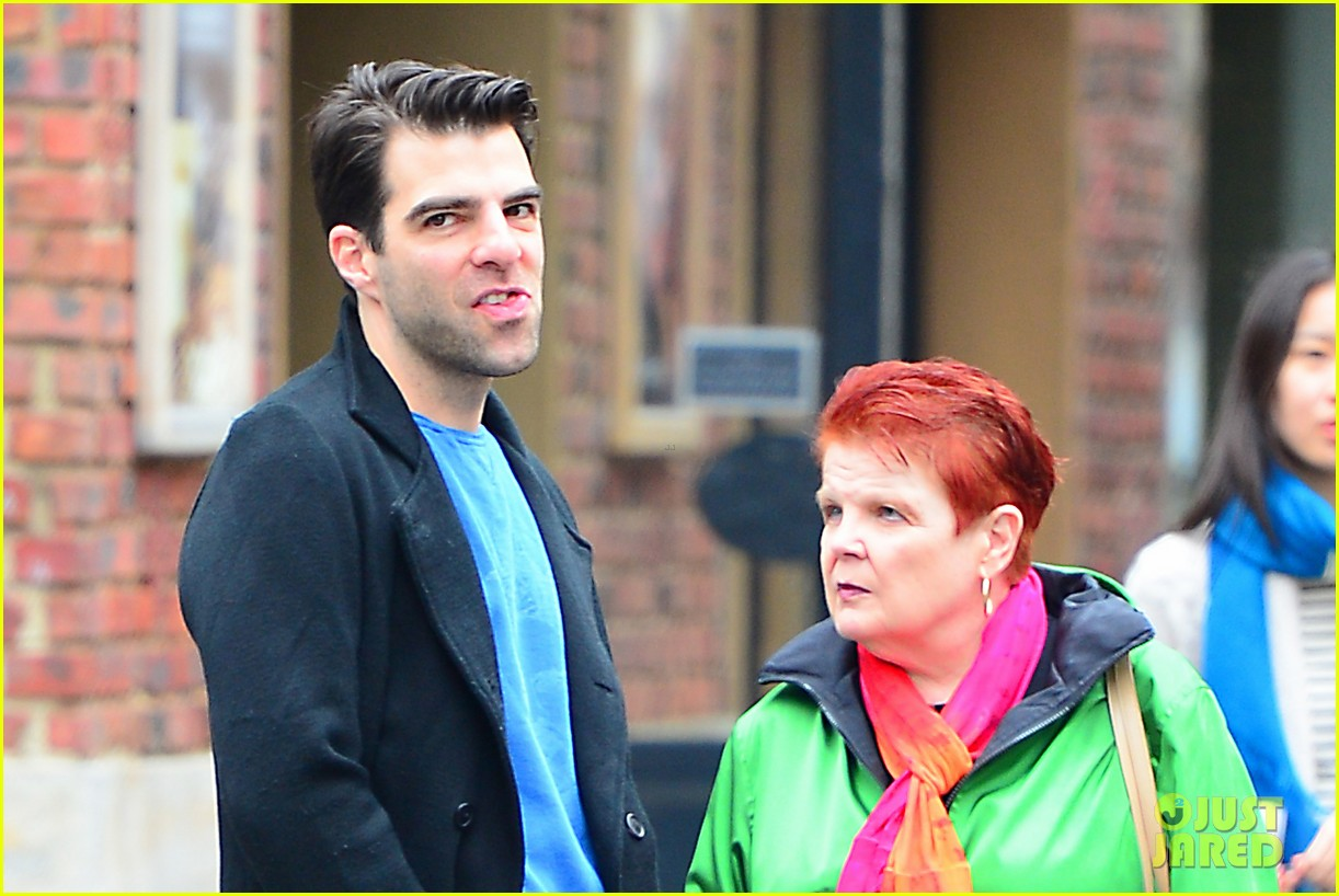 zachary quinto go see big fish on broadway 082970135