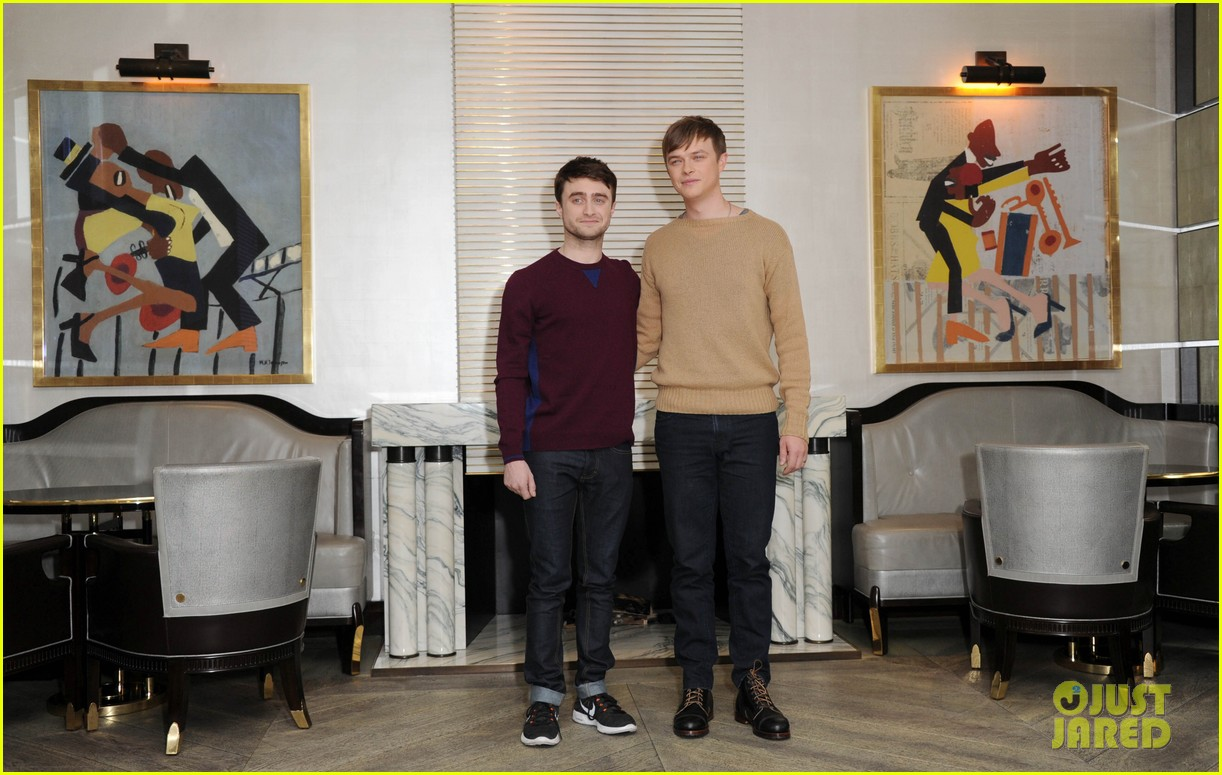 daniel radcliffe dane dehaan kill your darlings bfi photo call 022973736