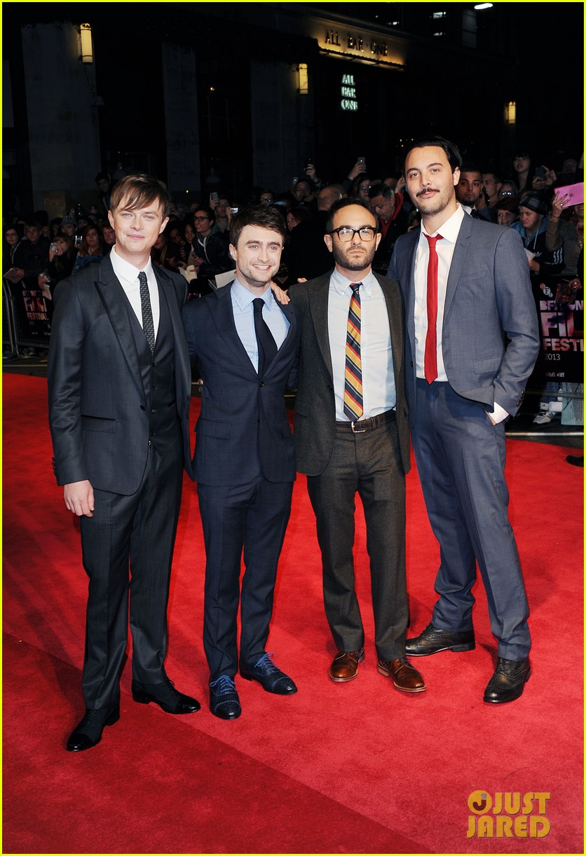 daniel radcliffe dane dehaan kill your darlings at bfi fest 03