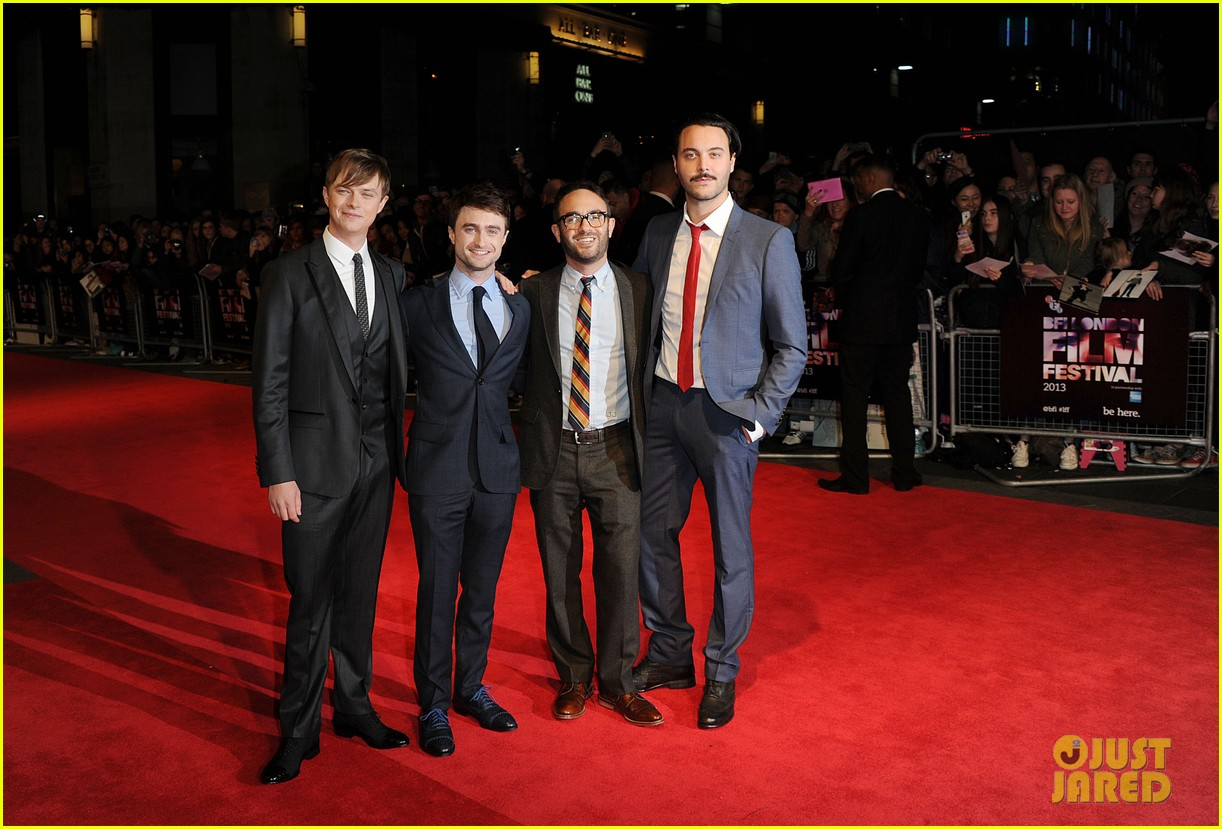 daniel radcliffe dane dehaan kill your darlings at bfi fest 252973844