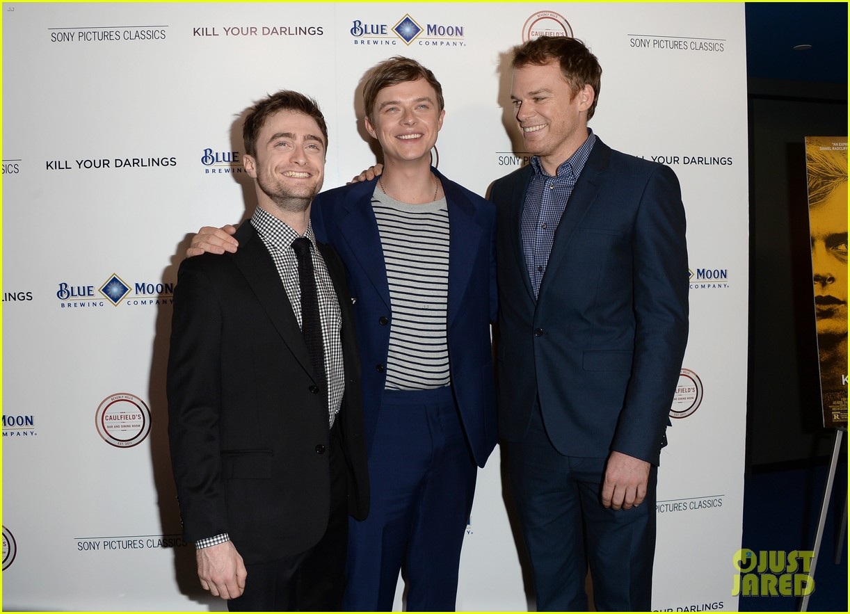daniel radcliffe dane dehaan kill your darlings premiere 182965561