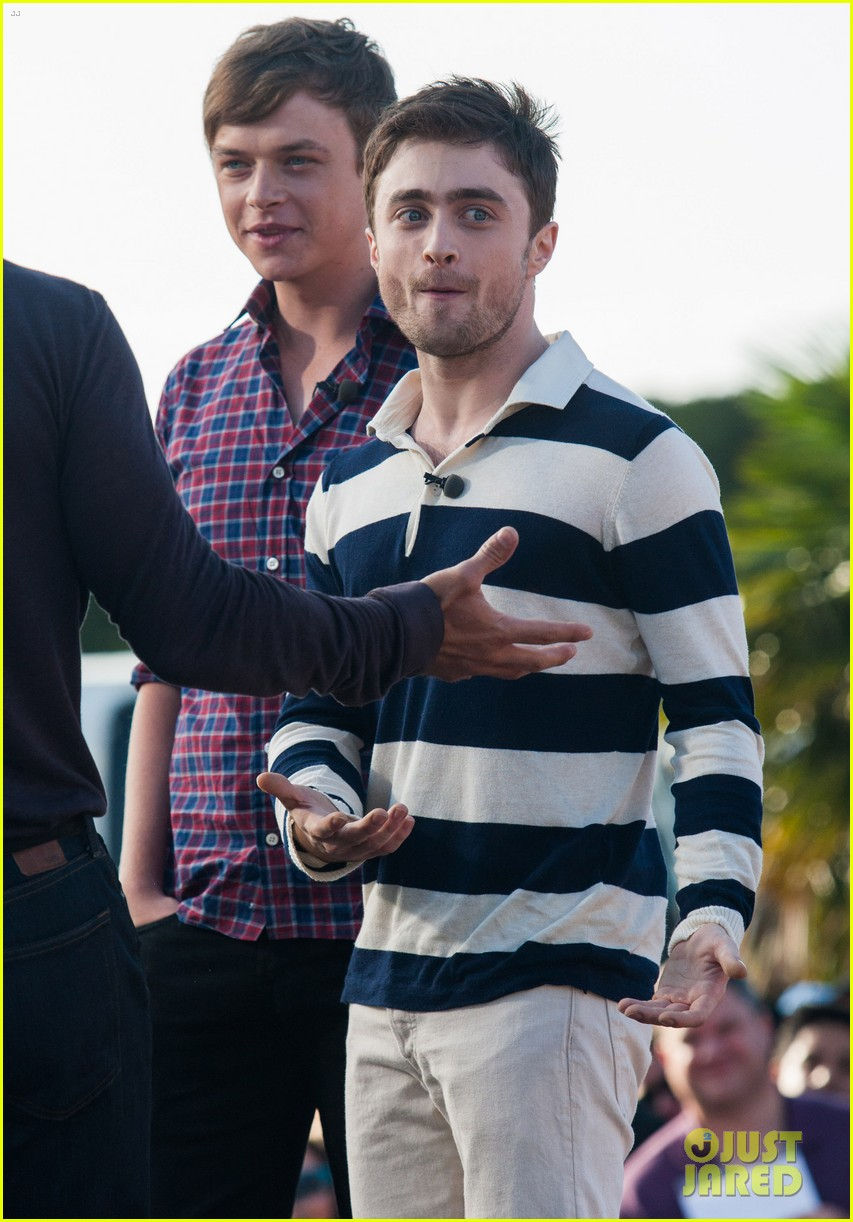 Full Sized Photo of daniel radcliffe dane dehaan kill your ... Daniel Radcliffe