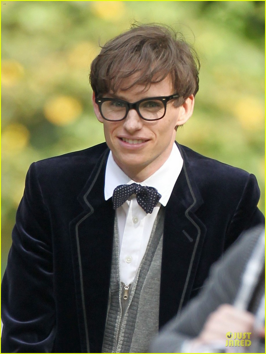eddie redmayne felicity jones theory of everything set 102968032