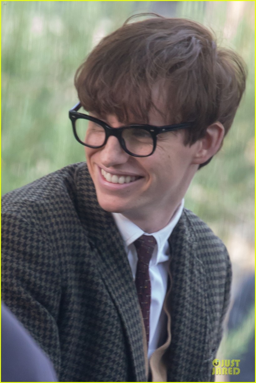 eddie redmayne felicity jones theory of everything set 252968047