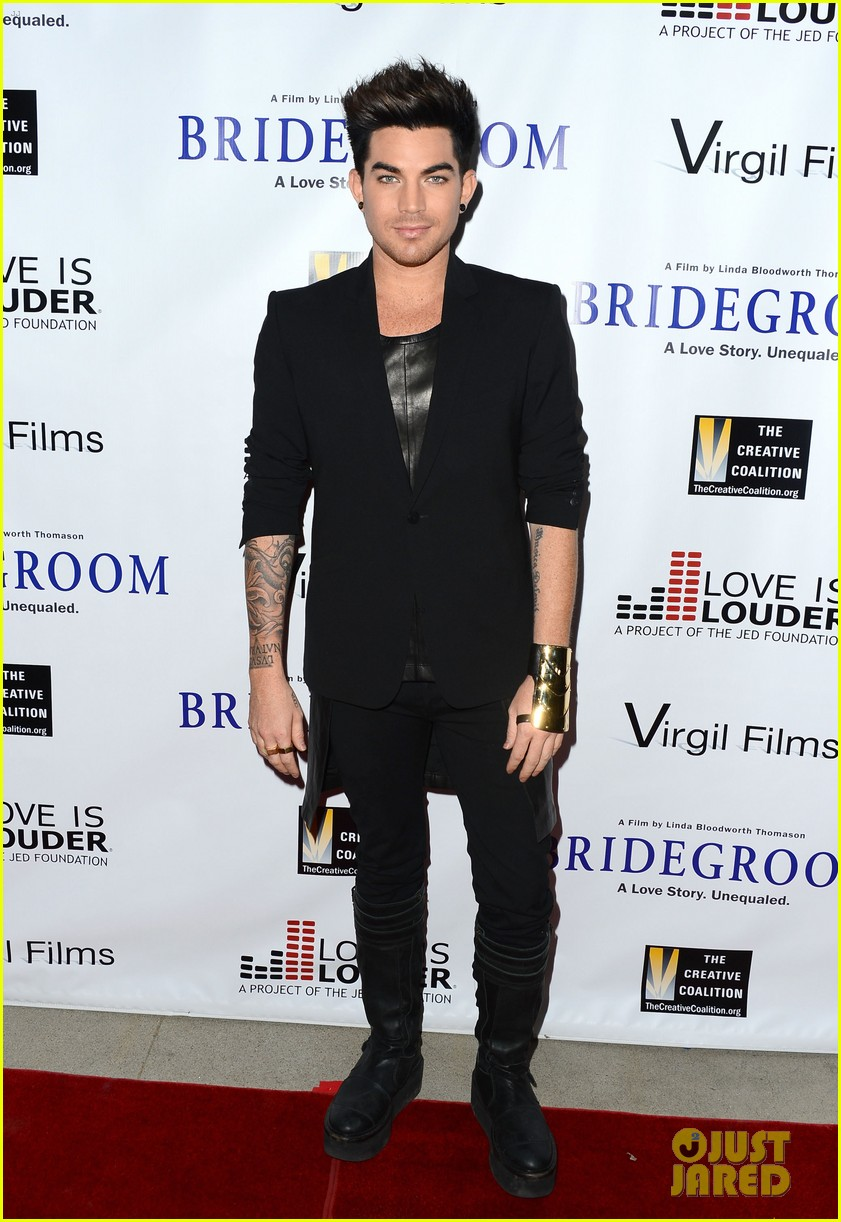adam lambert nikki reed bridegroom premiere 022972821